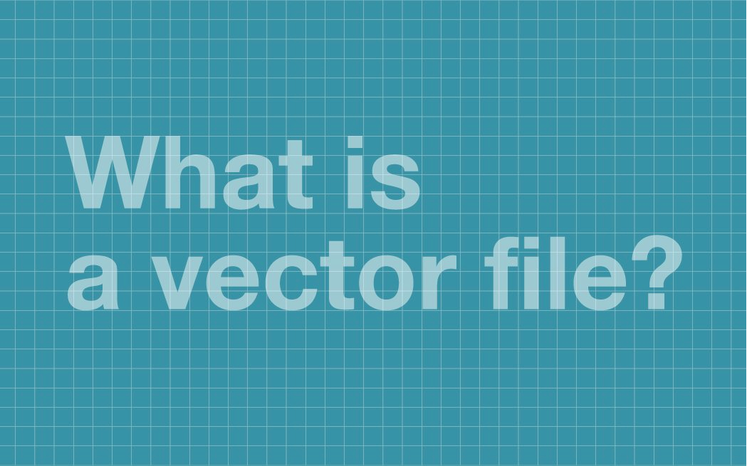 What is a vector file?