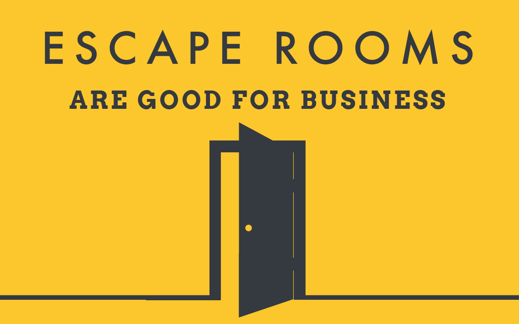 Escape Rooms Are Good For Business